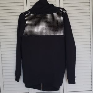 Wilfred Free Rousseau Studded Zip Sweater, XS/S